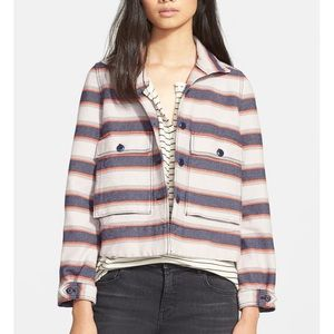 The Great Swing Army Stripe Jacket
